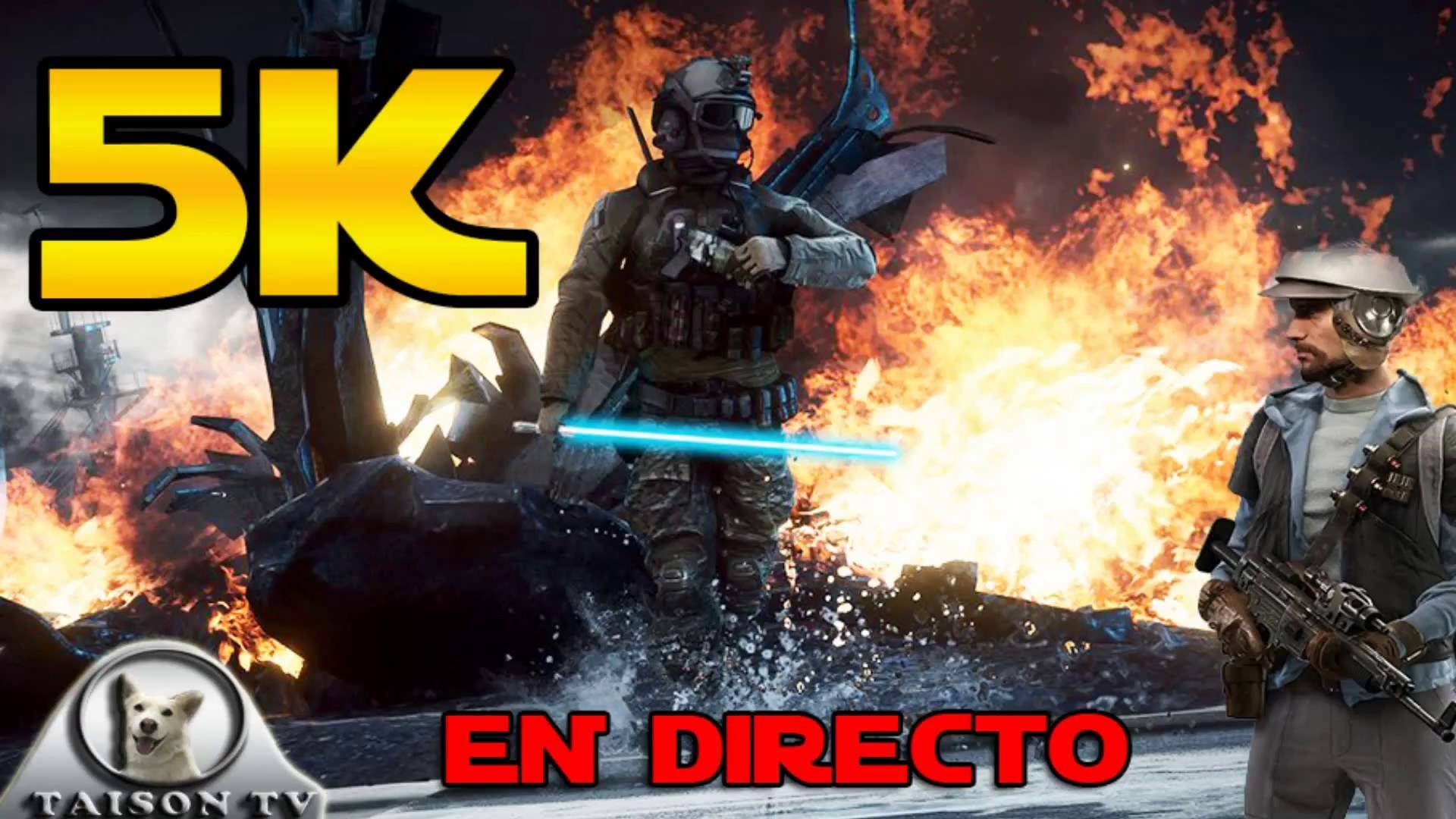 Directo Especial 5K Preguntas y Respuestas de Battlefront y Battlefield