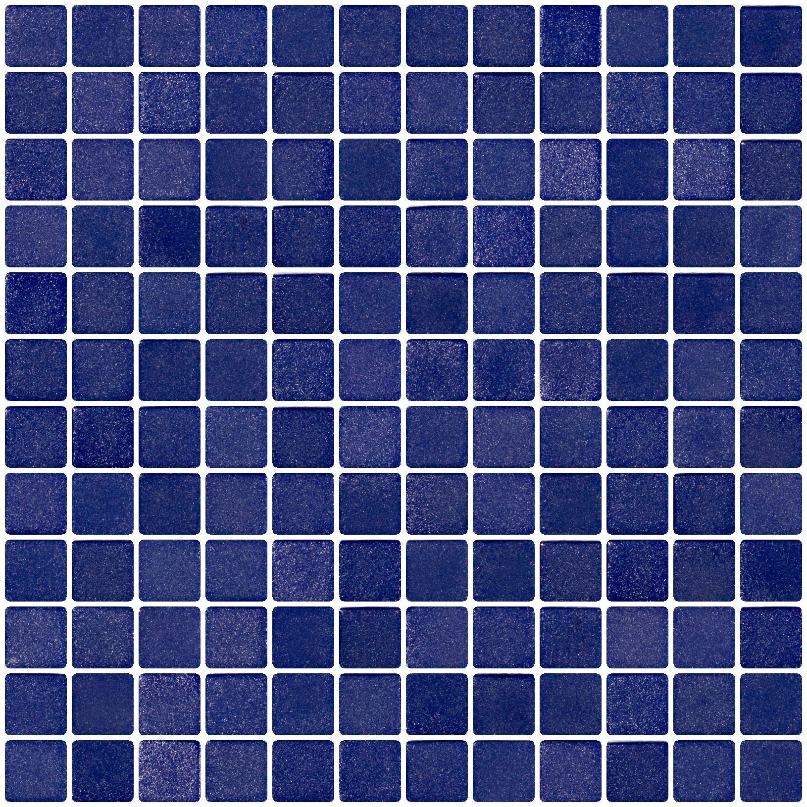 1 Inch Cobalt Blue Textured Anti-slip Glass Tile | bathrooms ...