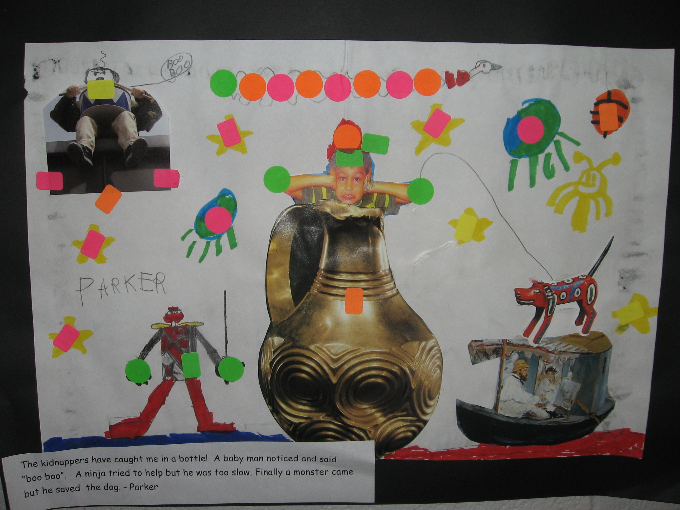 2nd Grade Surreal Art