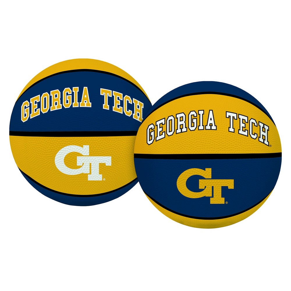 NCAA Rawlings Crossover Basketball tech yellow