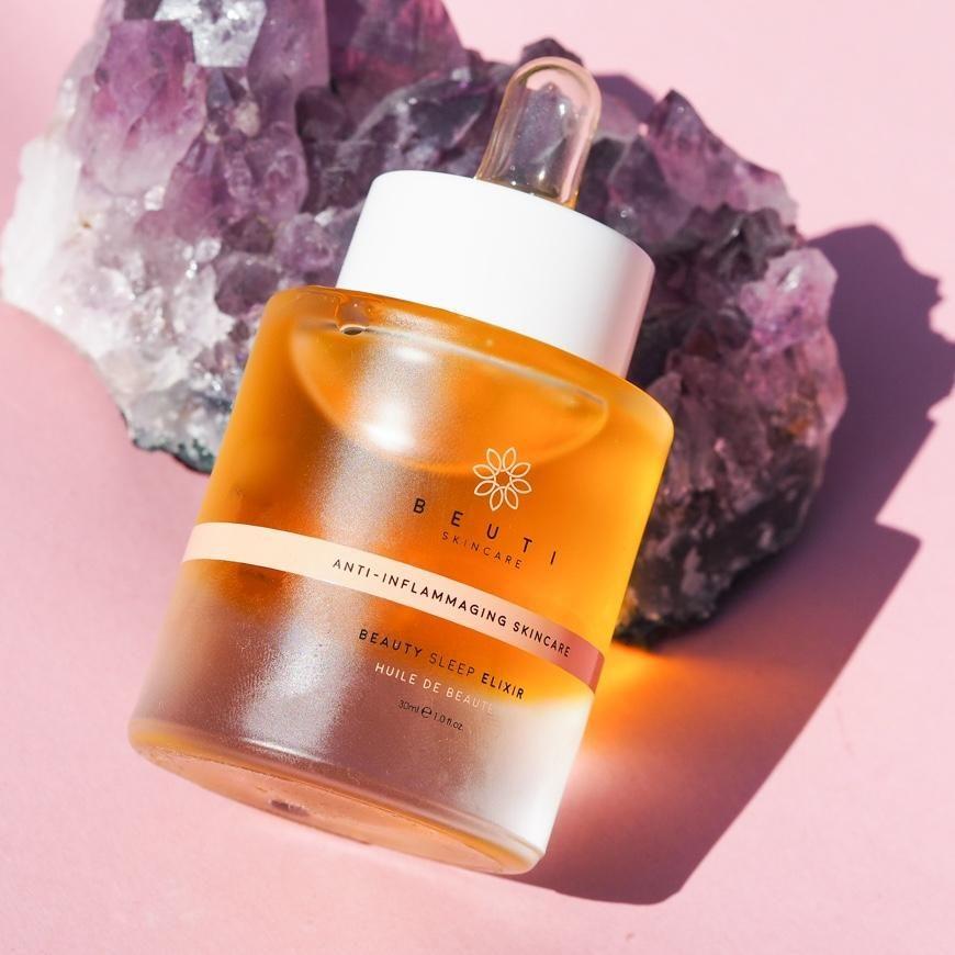 Beuti Skincare Beauty Sleep Elixir Credo Beauty Skin Care Skin Care Pomegranate Seed Oil