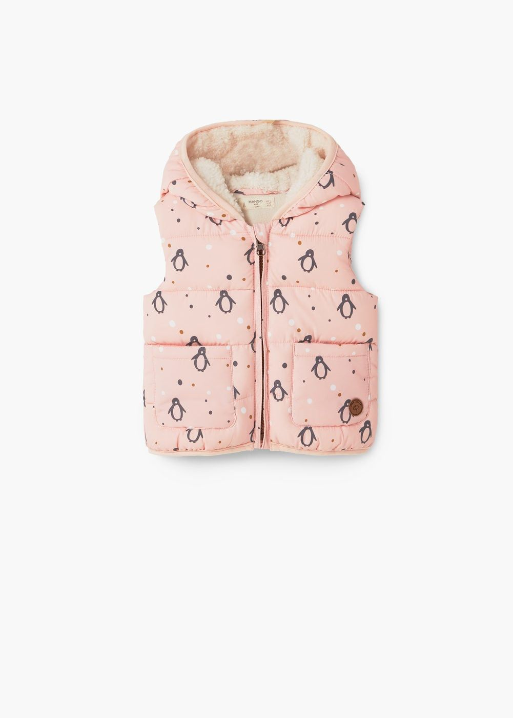 Fashion Girls Baby Printed Quilted Kid United Gilet wBttfF 3b07e4447c5