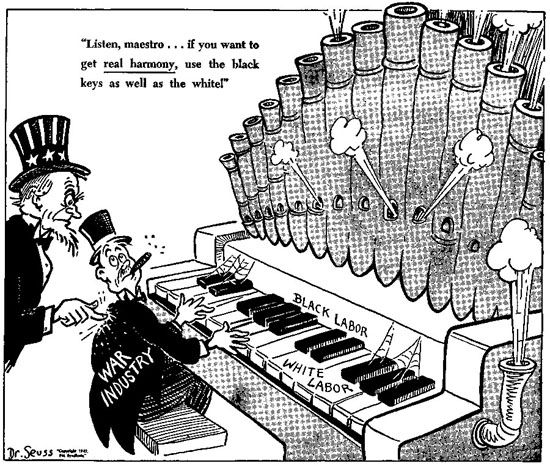 by Theodor Geisel aka Dr. Seuss in 1943