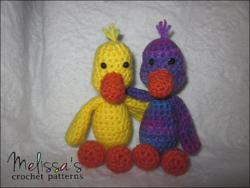 Ravelry Puddles The Tiny Duck Pattern By Melissas Crochet Patterns