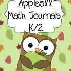 Get your kids going with these common core aligned APPLE math journal prompts.  This pack includes 15 prompts you can use as whole group, small gro...