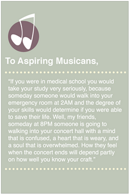 To Aspiring Musicians... Quote Music quotes, Quotes, All