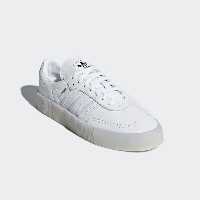 SAMBAROSE Shoes White Womens | Shoes, Adidas shoes, Soccer shoes