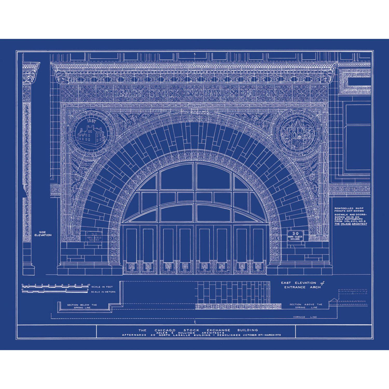 L. Sullivan blueprint