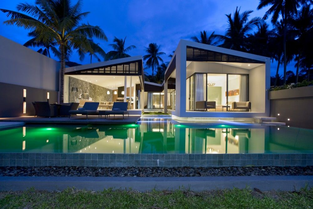 Contemporary Island Living On Koh Samui | Contemporary Houses | Pinterest