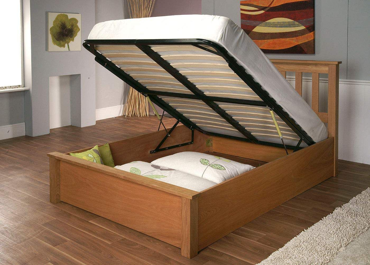 Magnificent Bed Storage Lift Up Kid Beds Ottoman Storage Bed Dailytribune Chair Design For Home Dailytribuneorg