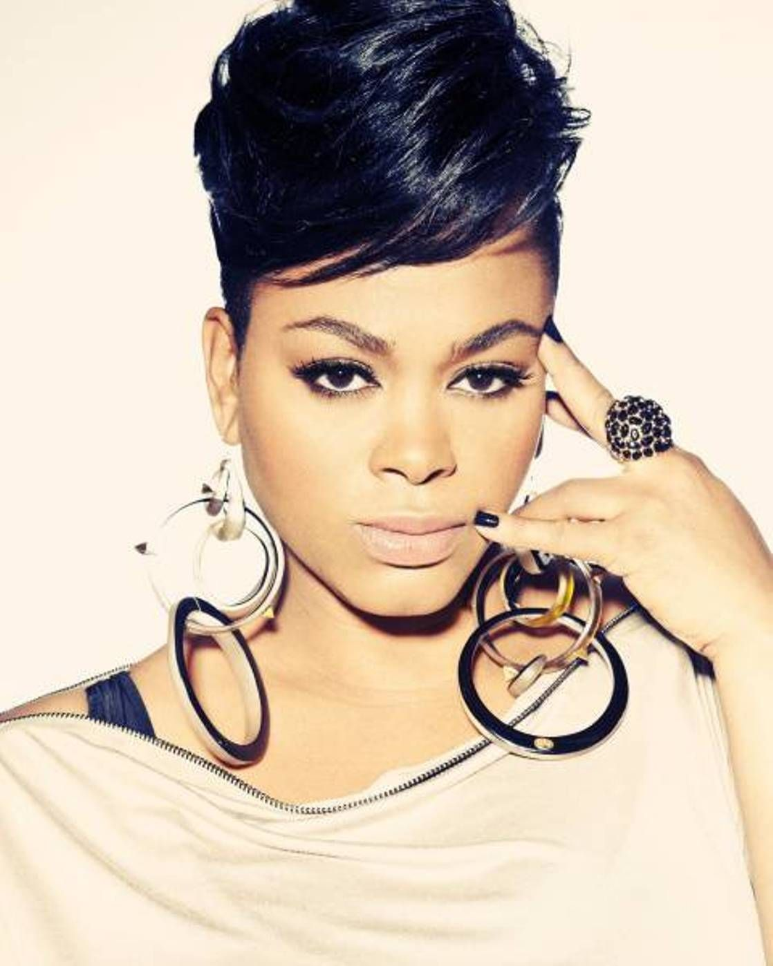 Trendy african american short hairstyles african american short