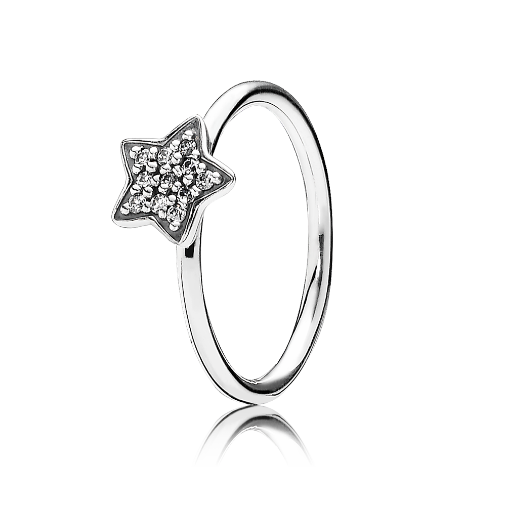 star pandora ring