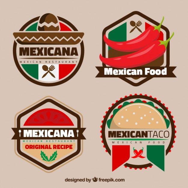 Logotipos Mexicanos Coloridos Para Restaurantes Logos Pinterest