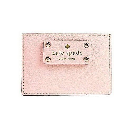 Kate Spade Wellesley Graham Business Card Holder Credit Card Holder Balletslipper Pink At Amazon Kate Spade Wellesley Business Card Holders Leather Card Case