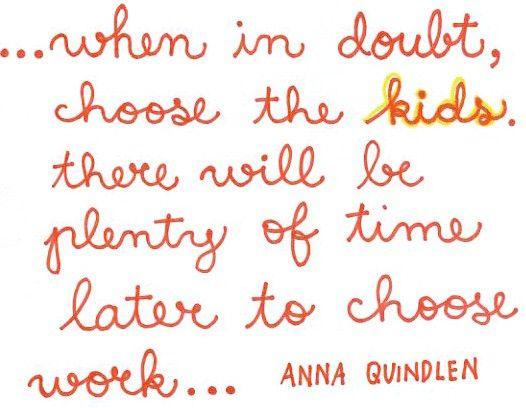 choose the kids.