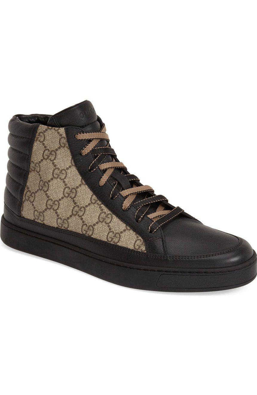Gucci 'Common' High-Top Sneaker (Men