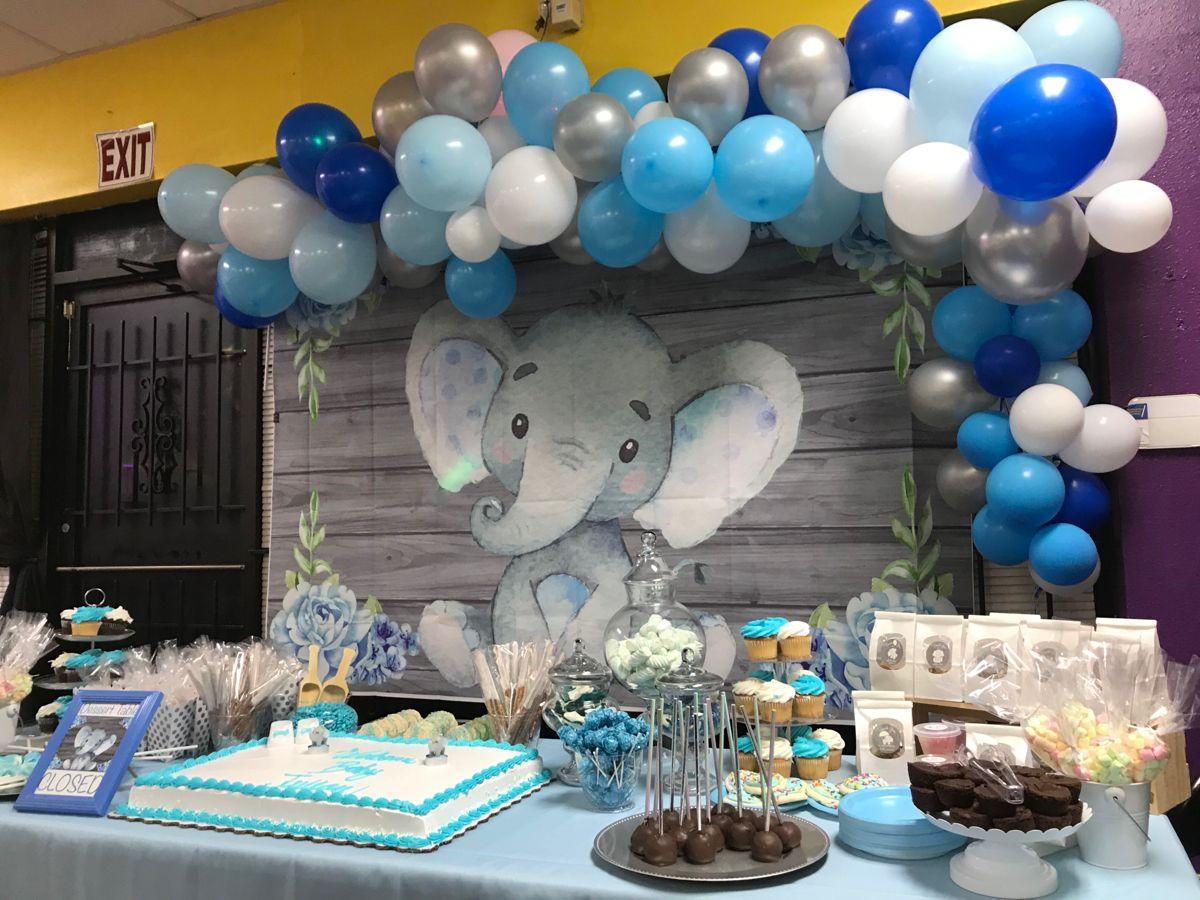 Baby shower elephant theme   Elephant baby shower theme, Elephant ...
