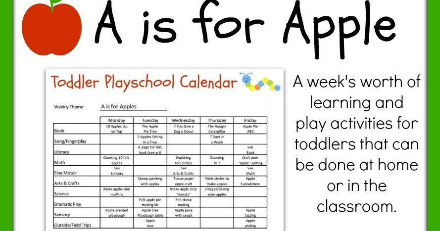 photo relating to Free Printable Toddler Lesson Plans known as Infant Playschool: A is for Apples Lesson Method cost-free