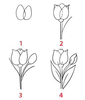 طريقة رسم وردة خطوة بخطوة للمبتدئين Roses Drawing Art Drawings Sketches Simple Drawings