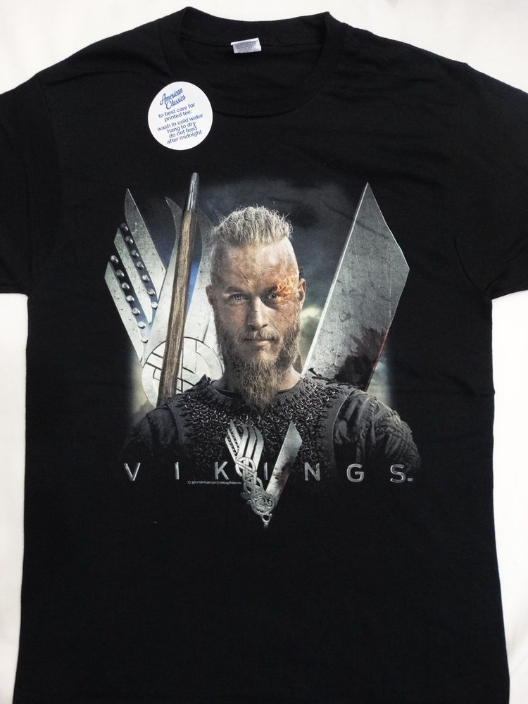 a0923fbf0 Vikings History Tv Show Odin Flame in Eye T-Shirt in 2019 | Vikings ...