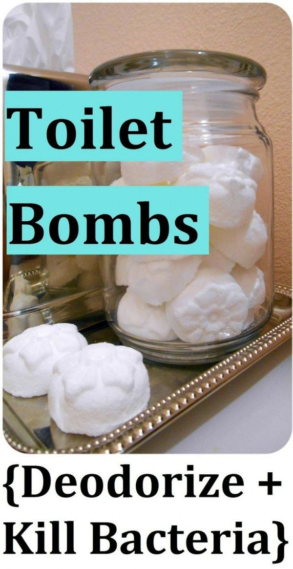Make Your Own Toilet Bombs Diy Homemade Cleaning