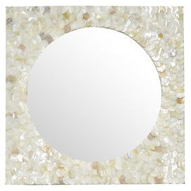Daniela Wall Mirror.Excellent for my guest bedroom. I love it!