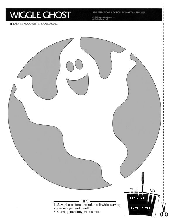 Pumpkin carving pattern http://www.halloweenpumpkins.be/img/patterns ...
