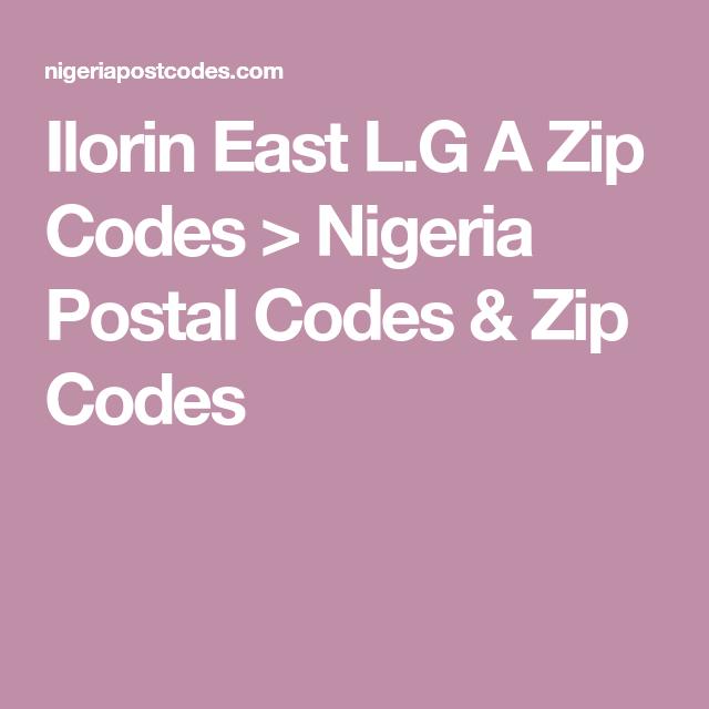 Ilorin zip code