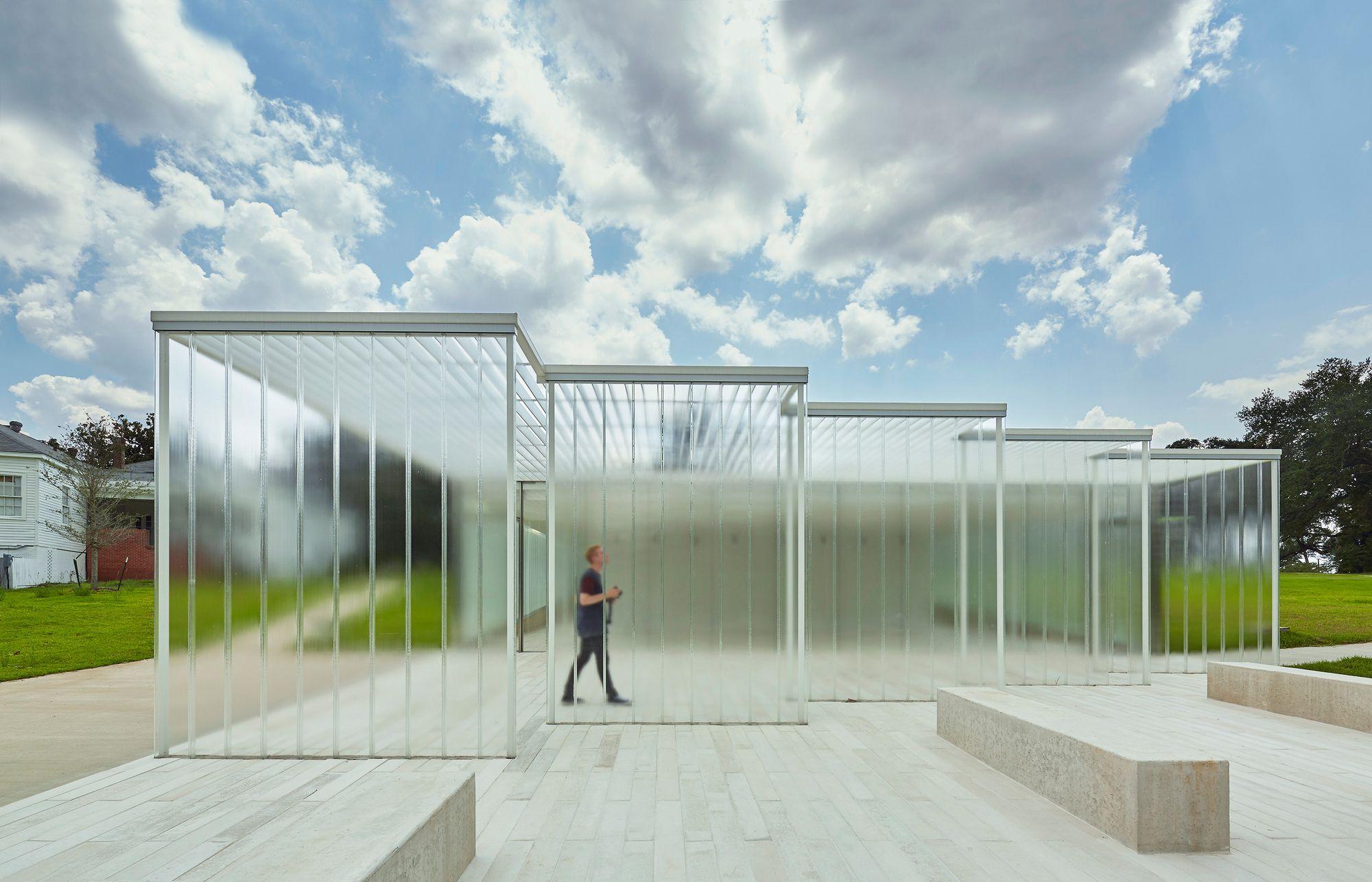 De Visitantes Magnolia Mound Trahan Architects # Muebles Sequeira Plasencia
