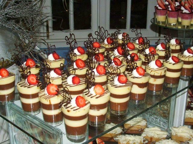 Mmh Chocolate Vanilla Pudding Layered Dessert Cups
