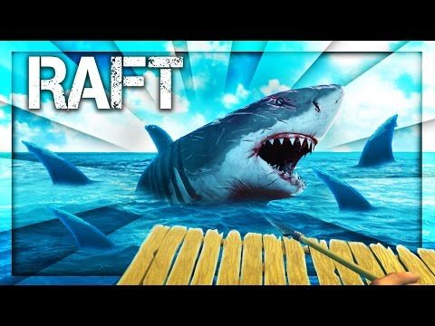 SHARK SONG on RAFT! Survival Game w/ Baby Shawn in Danger