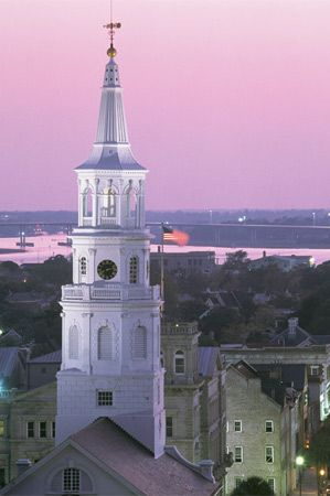 what time is in charleston sc