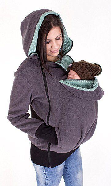 TOPKing Bébé. Le sac kangourou qui tient chaud, autant à