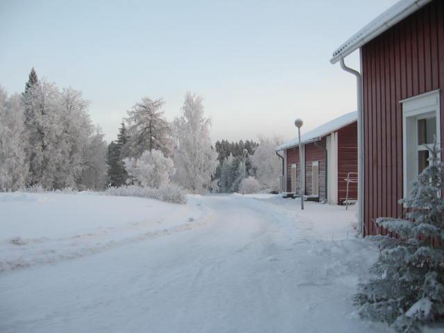 Tunnelmallinen Törmälän pihapiiri