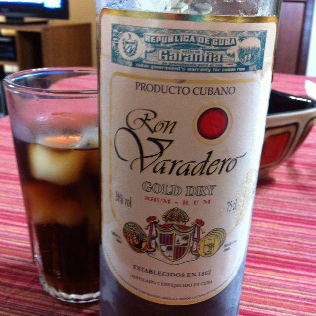 Un nuevo roncito Cubano...nueva degustación...