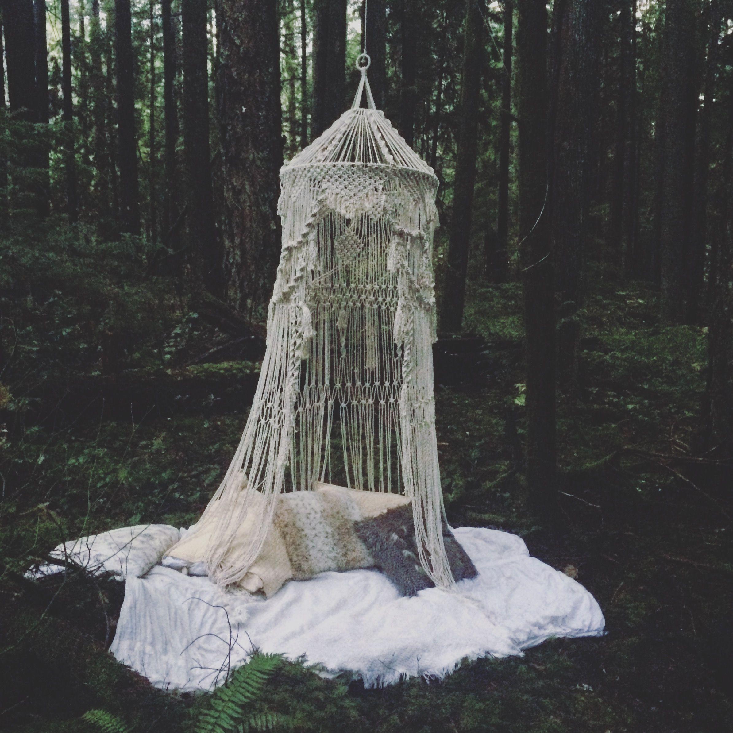 Bohemian Macrame Canopy | Macrame | Pinterest | Canopy ...