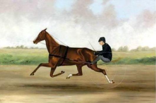 A Brisk Ride by William Garrett Van Zandt (1857-1942)