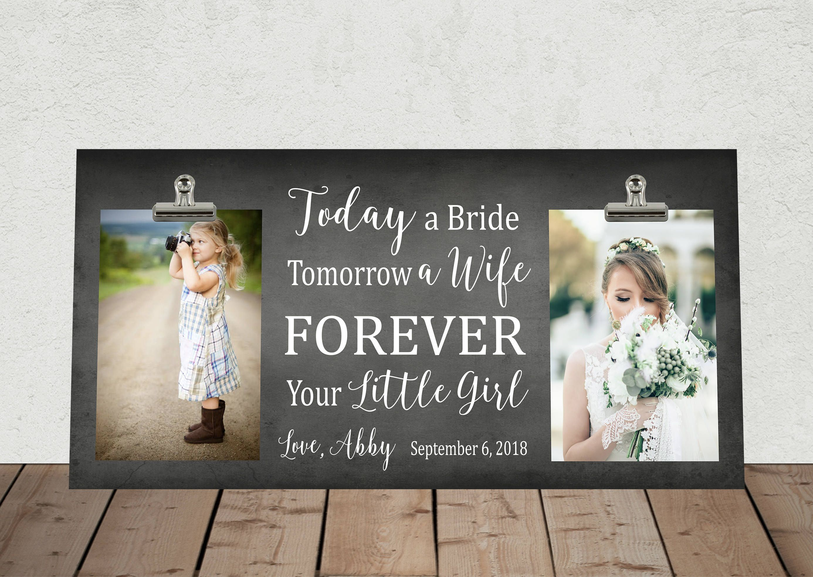 New Size 8x16 Wedding Gift For Parents Mother Andor Father Of
