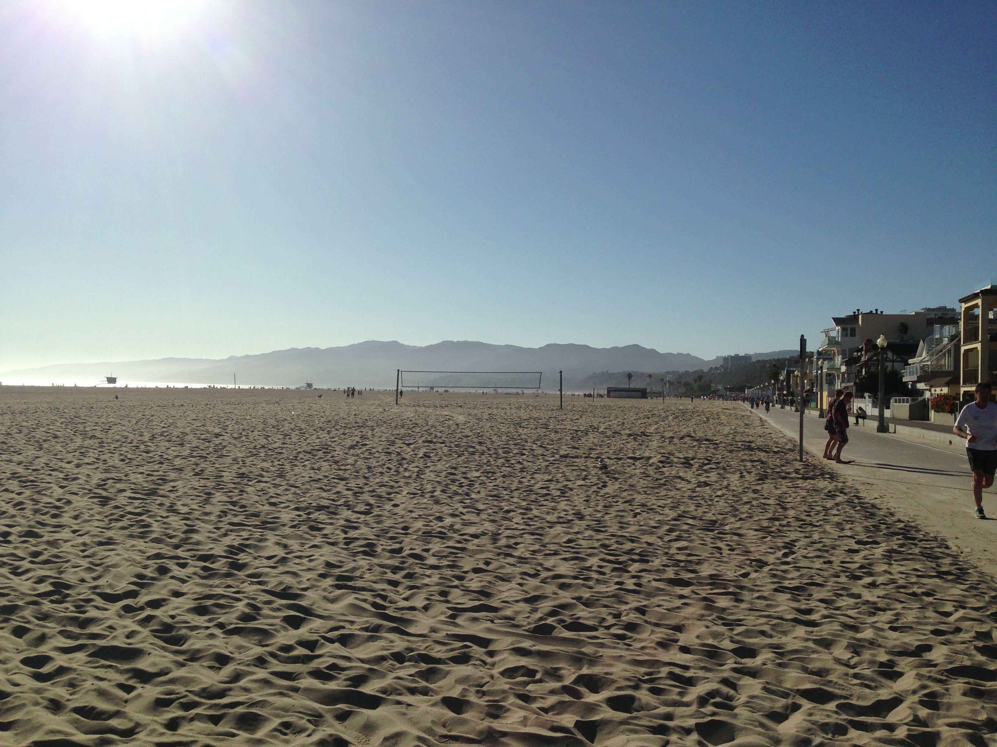 At Santa Monica, CA. July 2013.