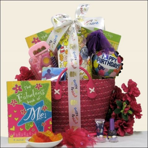 Send This Tween Girl Birthday Gift Basket That Is Perfect For Ages