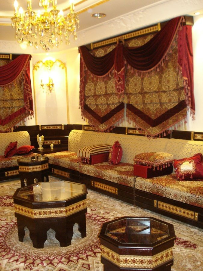 اشكال مجالس رجال Morocco Decor Moroccan Decor Curtains Living Room