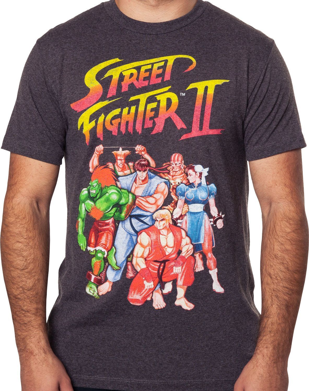 d9b2125a3 Street+Fighter+II+Roster+T-Shirt:+Street+Fighter+Mens+T-Shirt ...