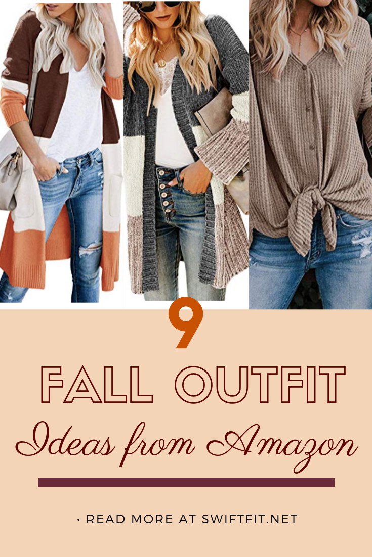 9 Affordable Fall Outfit Ideas from Amazon | #outfit #outfits #outfitinspo #fashionblogger #fitness...