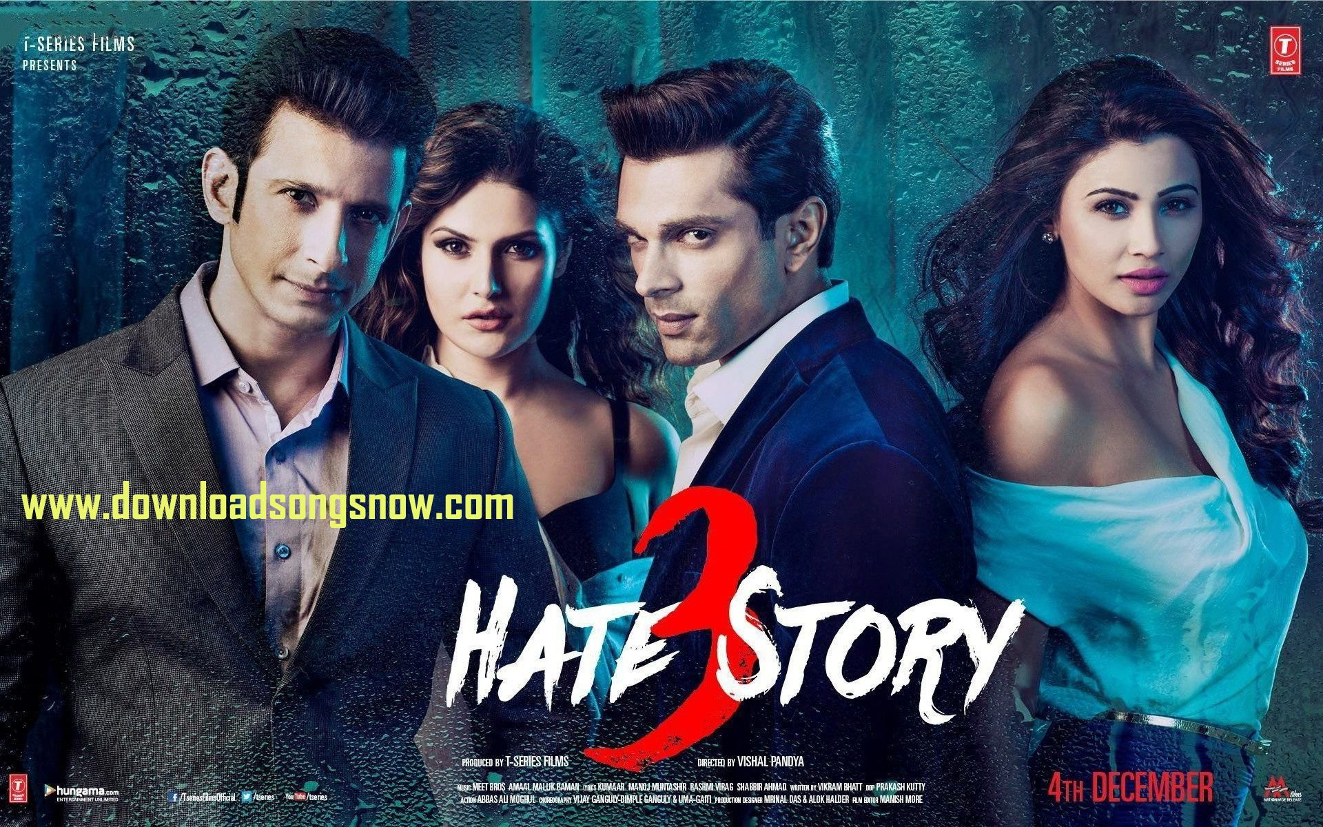 Hate Story 3 (2015) - Movie Full Mp3 Album Songs Download Online Now ... f9dd5f2a0760b