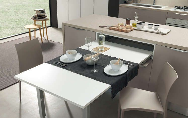 Ottimizzare gli spazi in cucina è molto importante e le cucine ...