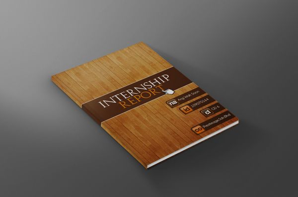 Internship Report Journal By Wah Soon Ang Via Behance  My Design