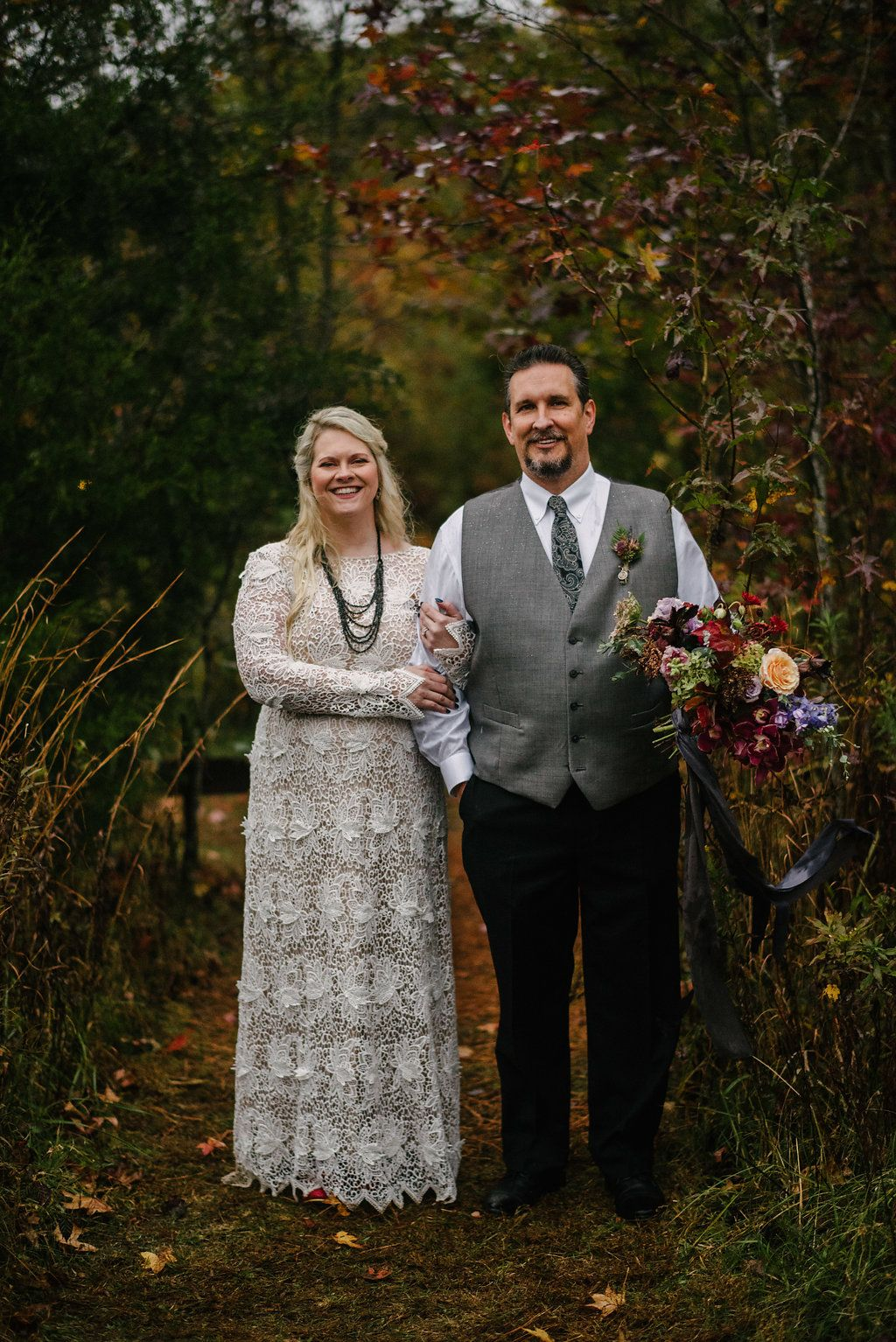 Southern Gothic Wiccan Wedding In The Rain Wiccan Wedding Rain Wedding Gothic Wedding
