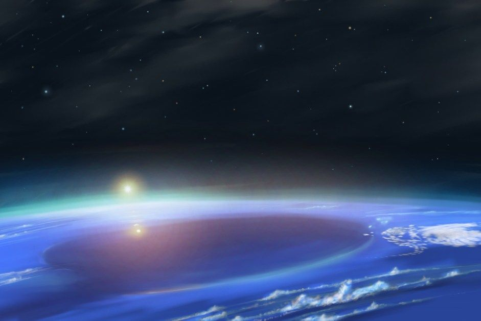 Уран планета фото с поверхности