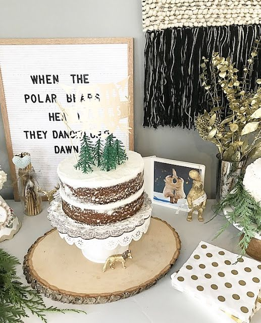 First Birthday Party Bear Theme Birthday Woodland Themed Birthday Ba Winter Birthday Parties Winter Onederland Birthday Party Winter Woodland Birthday Party