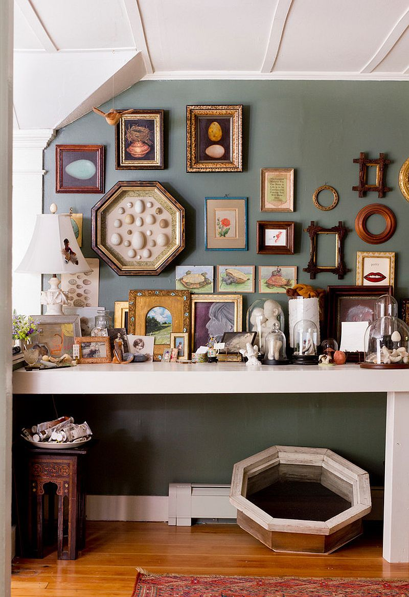 Home interior frames hot trend  creative ways to decorate with empty frames  home
